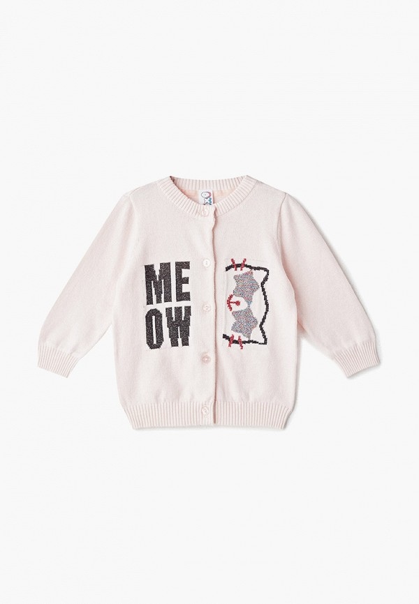 кардиган pixo для девочки, розовый
