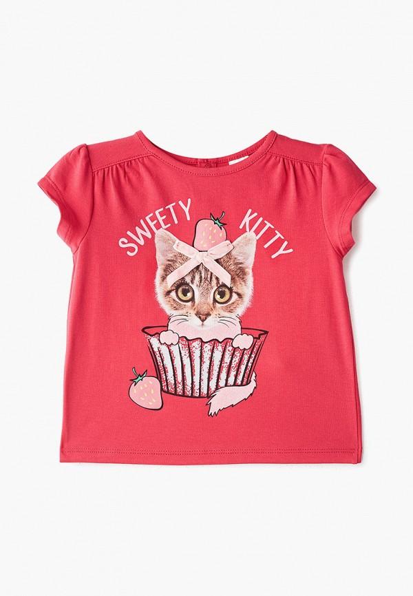 блузка pixo для девочки, красная