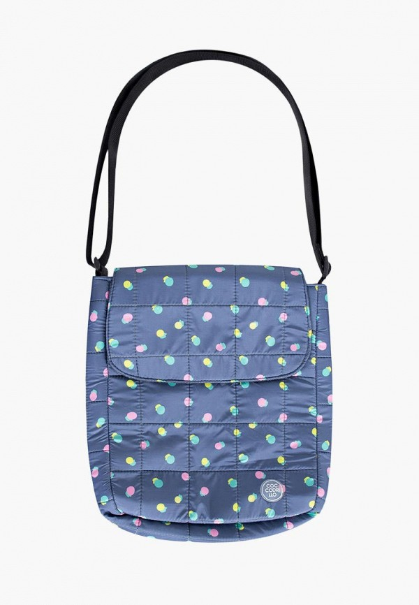 сумка coccodrillo для девочки, синяя
