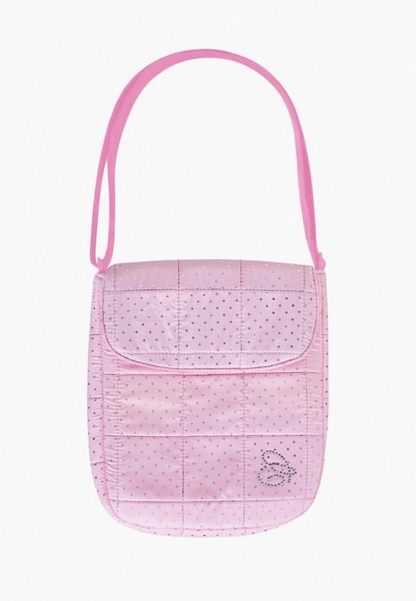 сумка coccodrillo для девочки, розовая