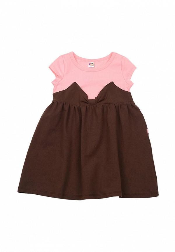 повседневные платье mini maxi для девочки, коричневое