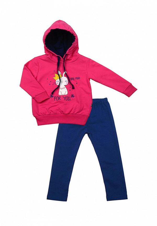 спортивные спортивный костюм mini maxi для девочки, разноцветный