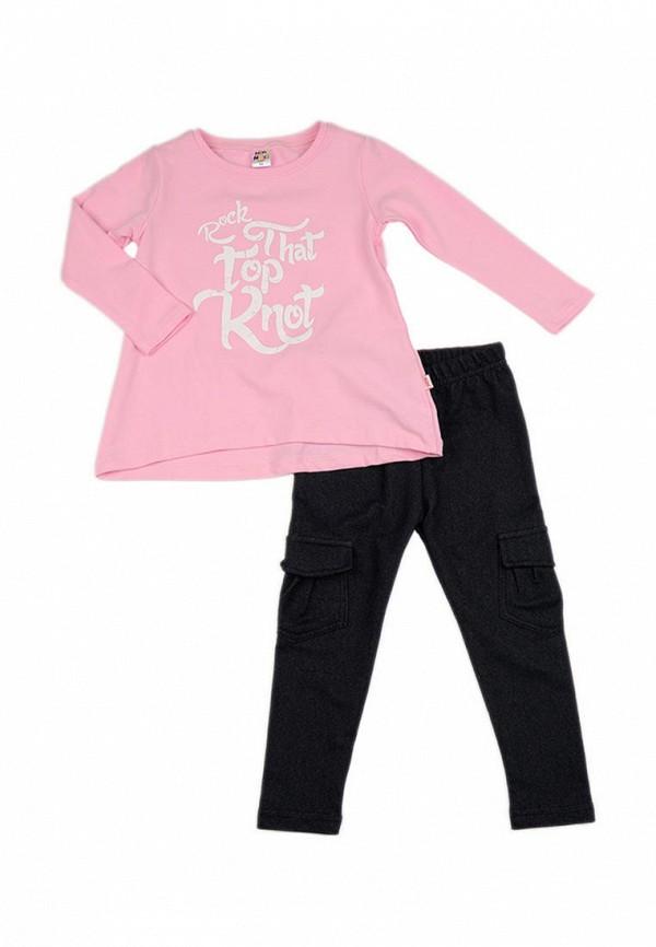 костюм mini maxi для девочки, розовый