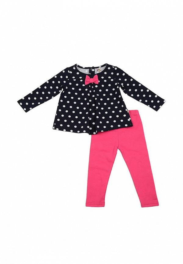 костюм mini maxi для девочки, разноцветный