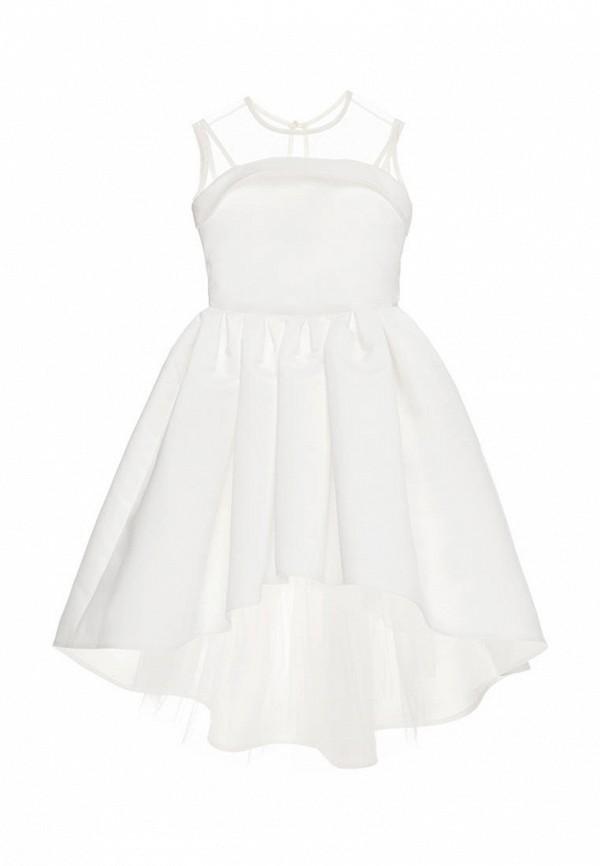 платье malyna для девочки, белое