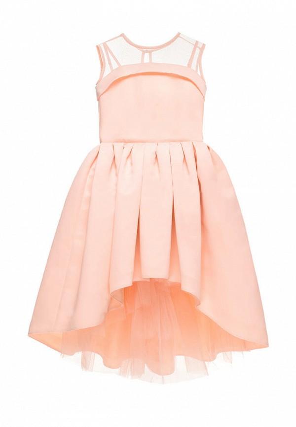платье malyna для девочки, оранжевое