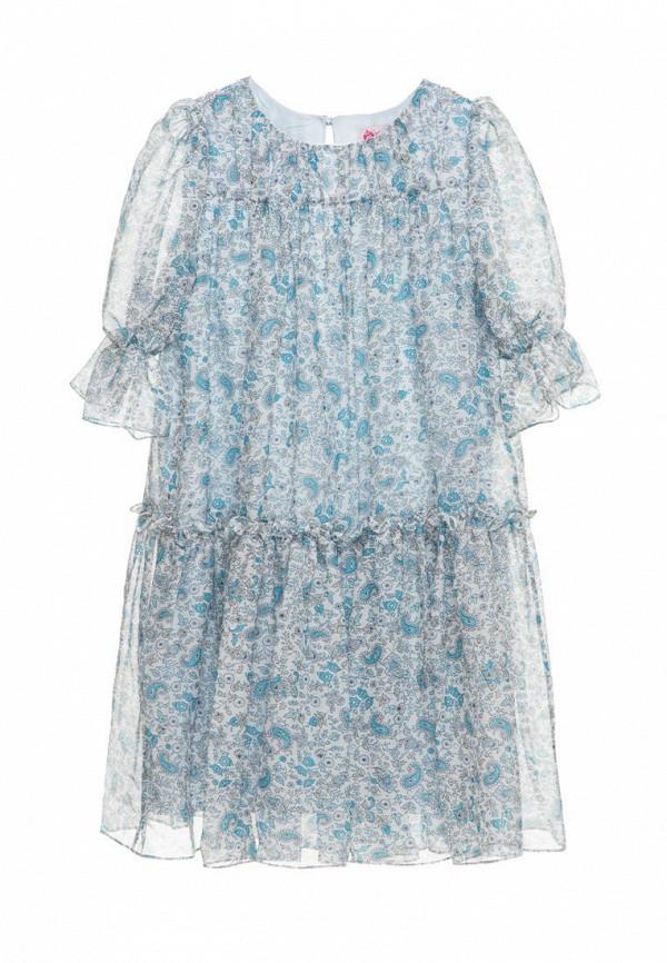 платье malyna для девочки, голубое
