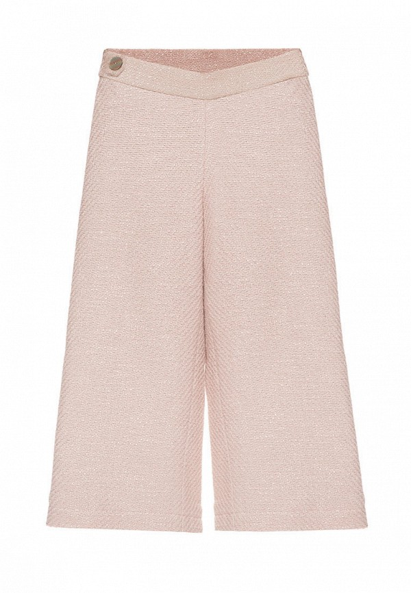 брюки malyna для девочки, бежевые