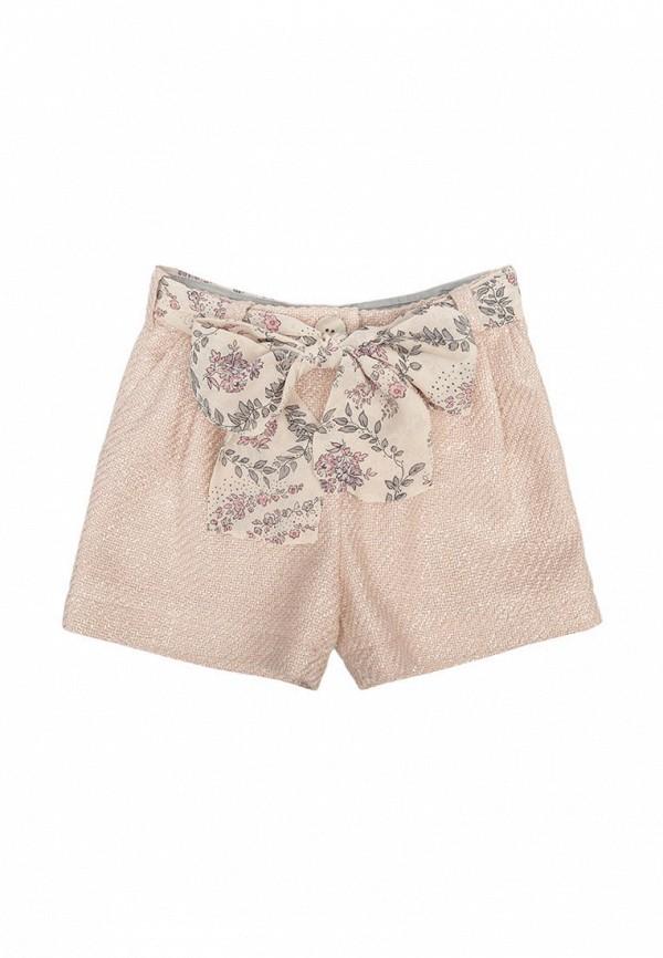 шорты malyna для девочки, бежевые