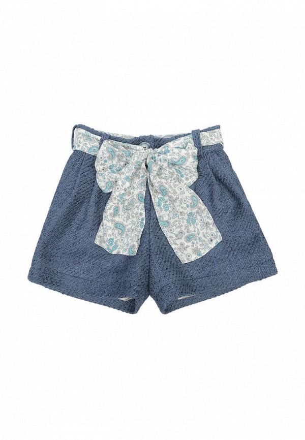 шорты malyna для девочки, синие