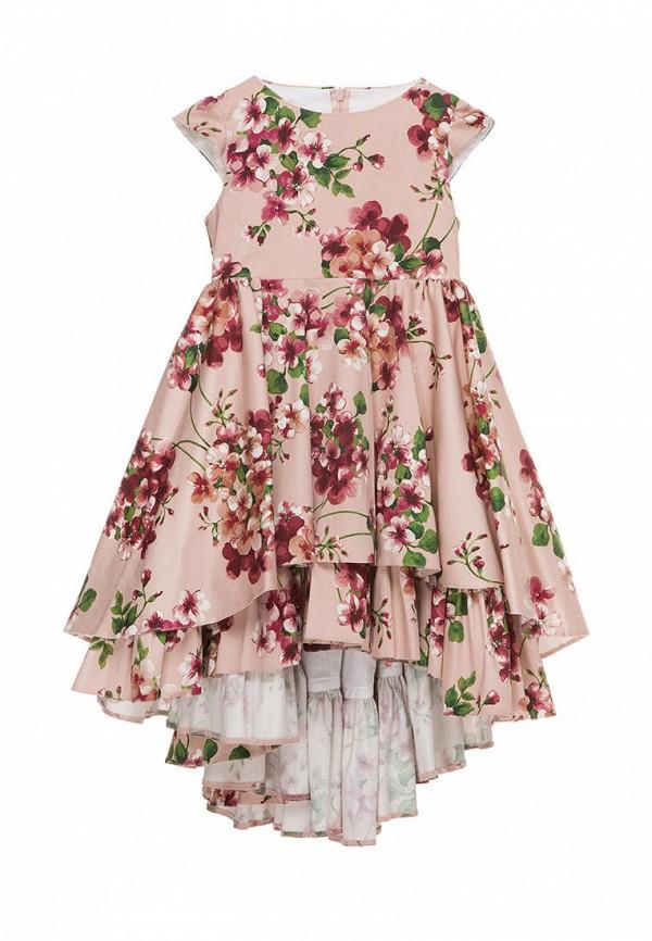 платье malyna для девочки, розовое