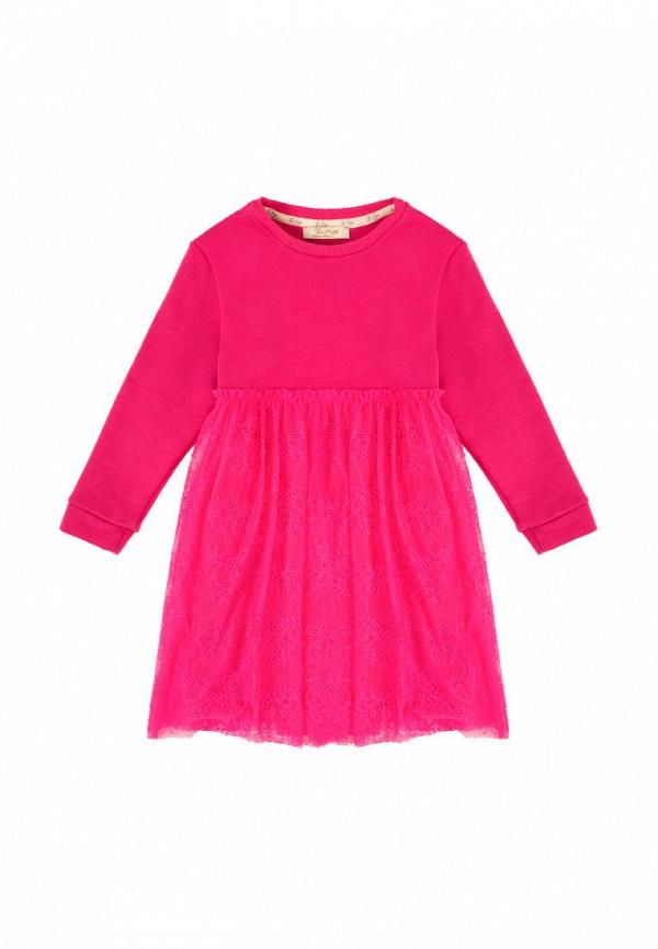 повседневные платье the hugs для девочки, розовое