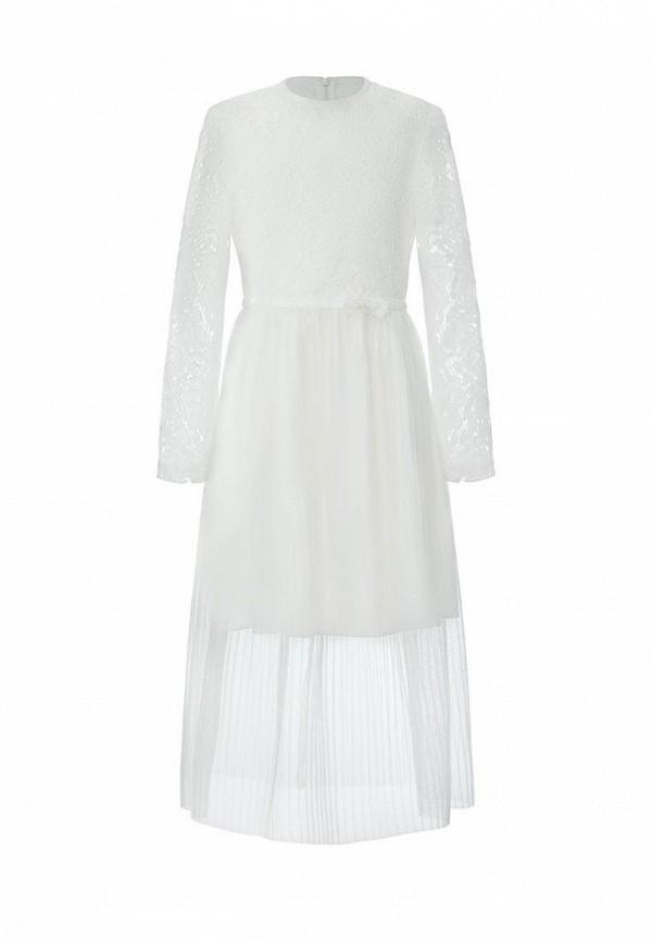 платье смена для девочки, белое