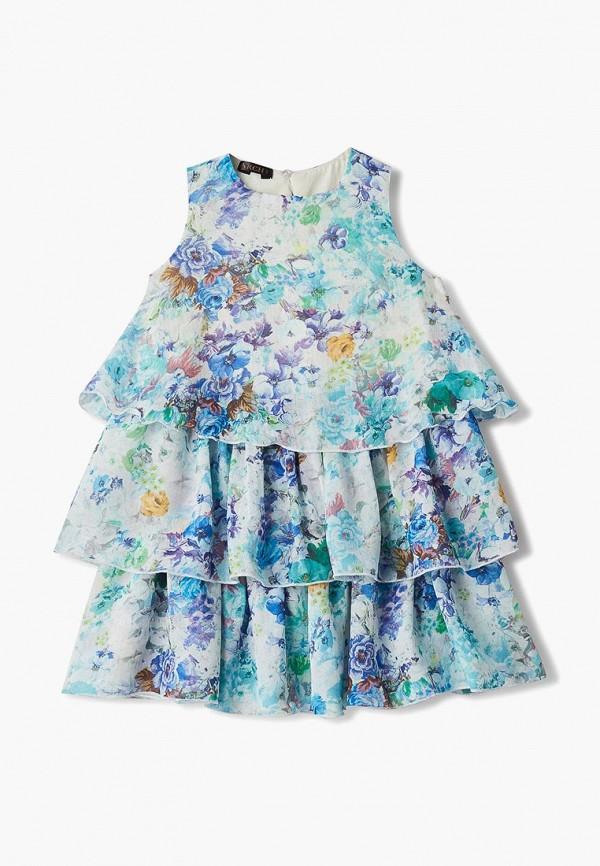 повседневные платье archyland для девочки, голубое