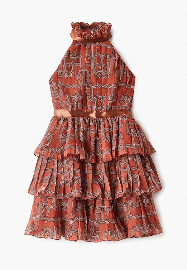 платье archyland для девочки, коричневое
