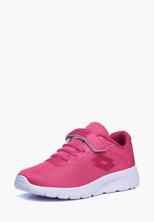 кроссовки lotto для девочки, розовые