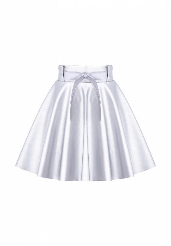 юбка stefany для девочки, серебряная