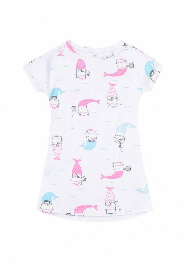 сорочка ночная crockid для девочки, белые