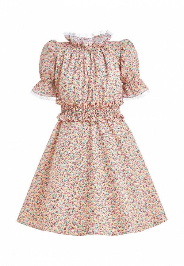 платье stefany для девочки, желтое