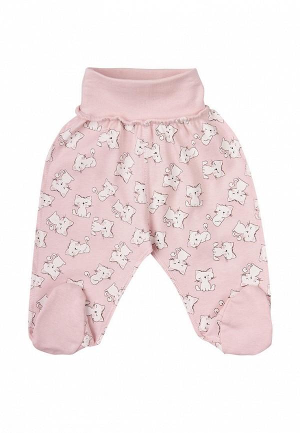 ползунки ля-ля для девочки, розовые