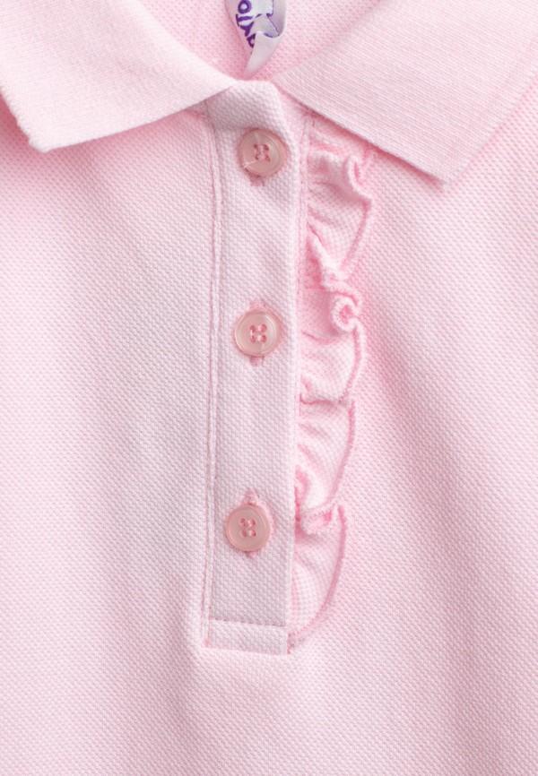 Поло для девочки PlayToday цвет розовый  Фото 2