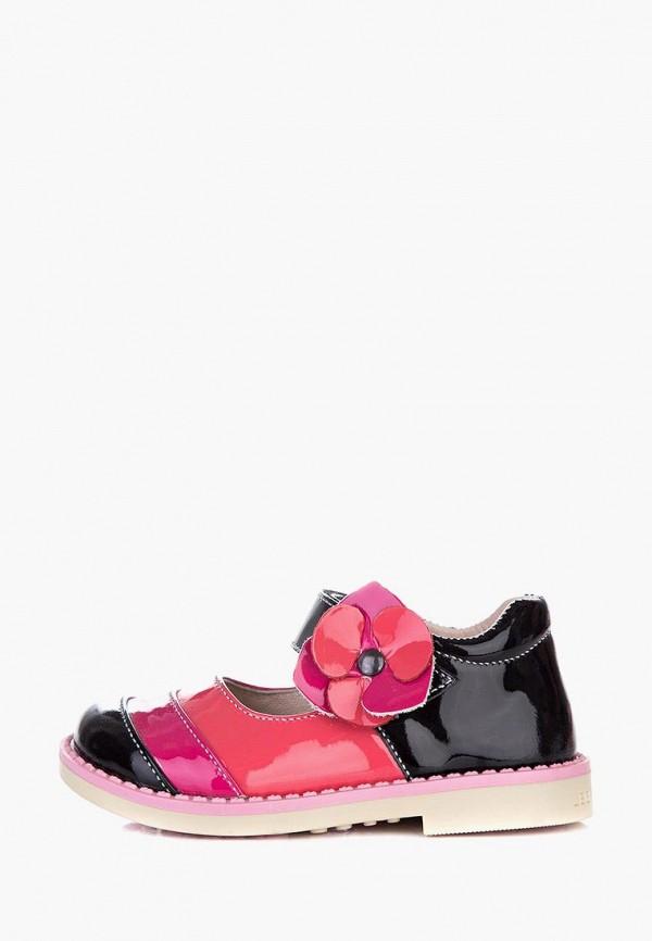 туфли miracle me для девочки, разноцветные