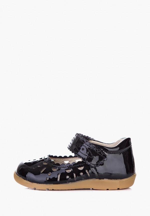 туфли miracle me для девочки, черные