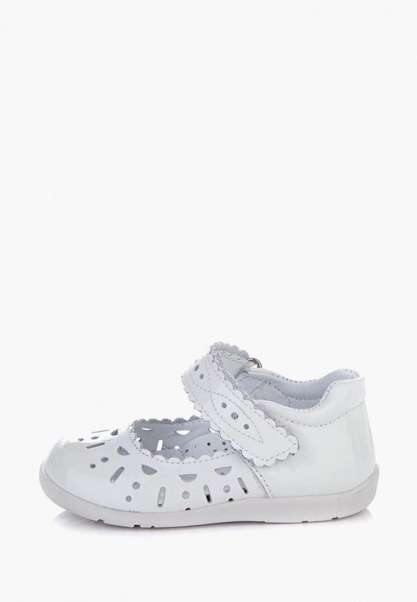 туфли miracle me для девочки, белые