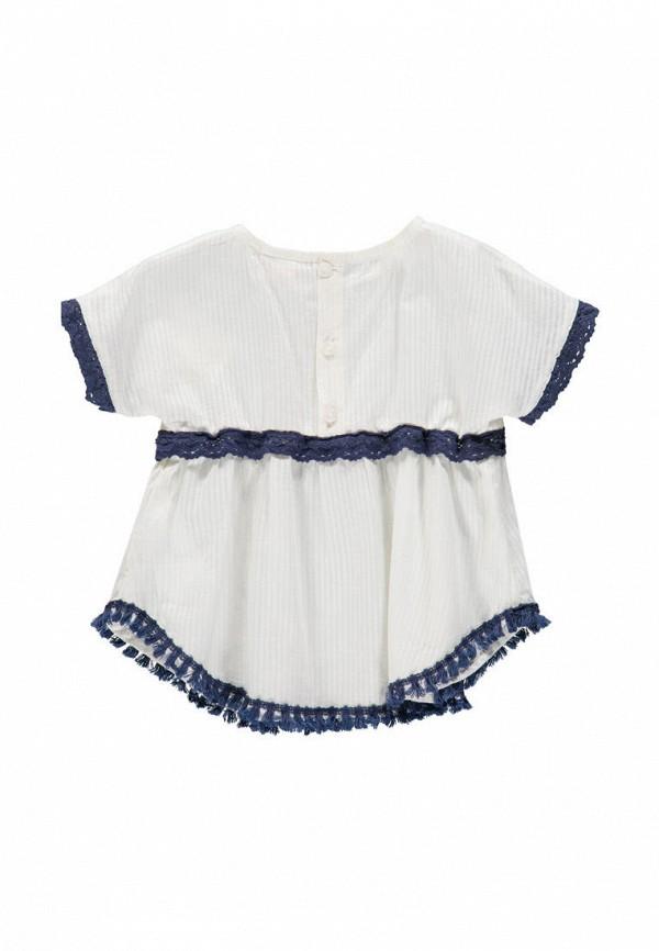 блузка brums для девочки, белая