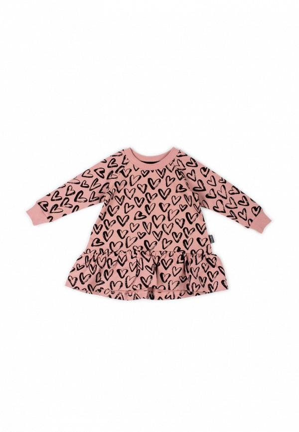 платье bodo для девочки, розовое