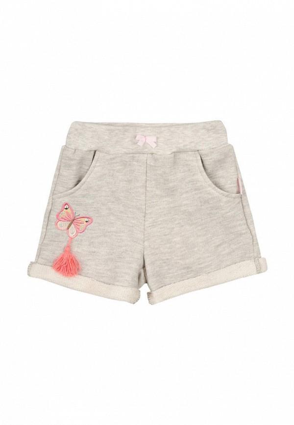 шорты бемби для девочки, серые