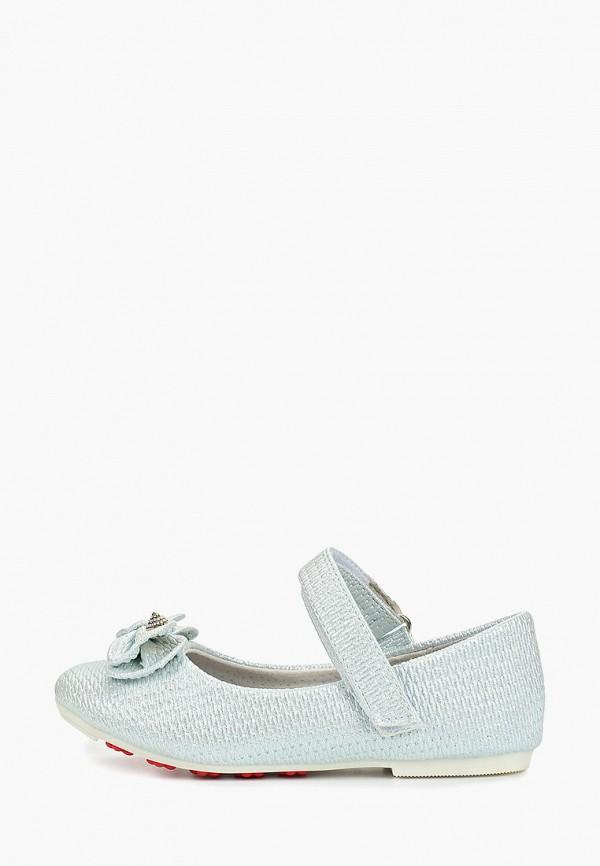 туфли vitacci для девочки, голубые