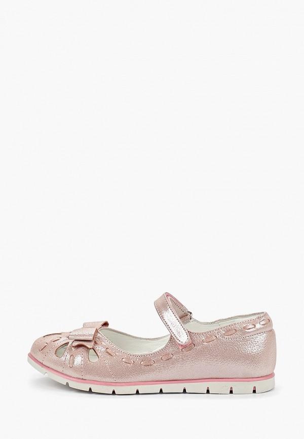 туфли vitacci для девочки, розовые