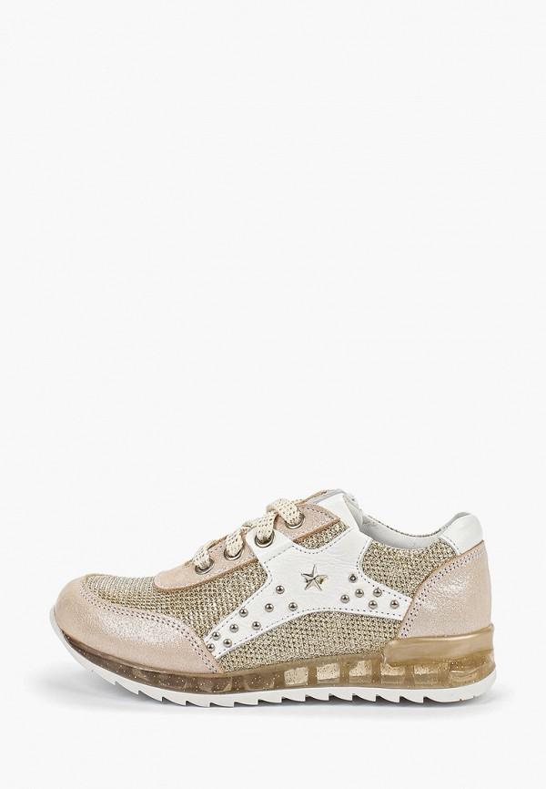 кроссовки vitacci для девочки, золотые