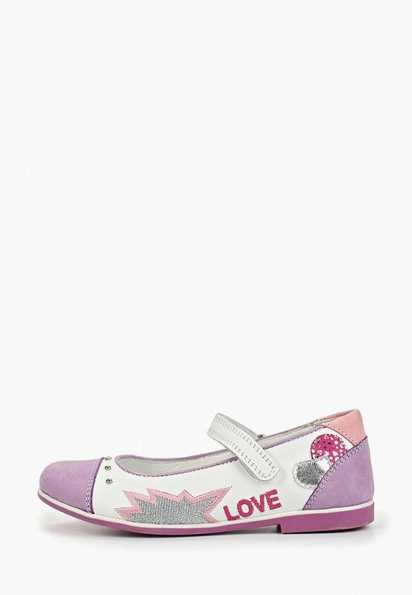туфли vitacci для девочки, разноцветные