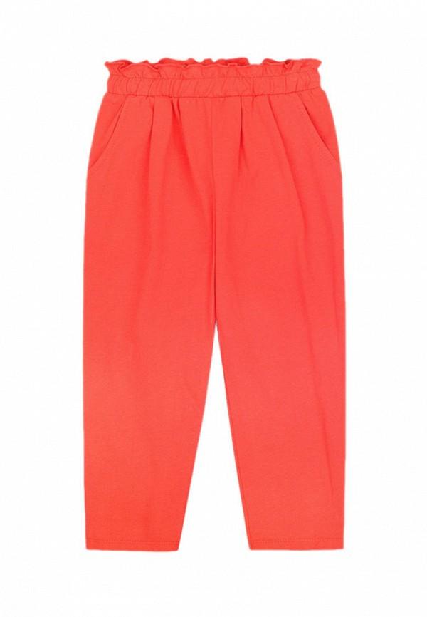 брюки crockid для девочки, красные