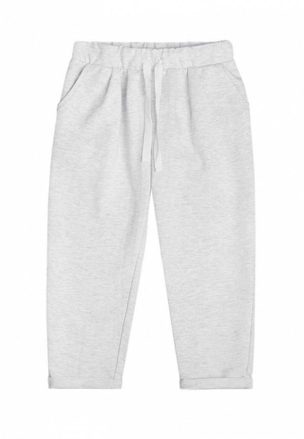 спортивные брюки crockid для девочки, серые