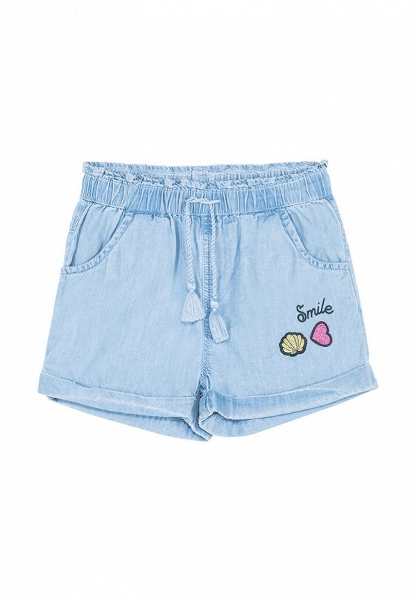 шорты coccodrillo для девочки, голубые
