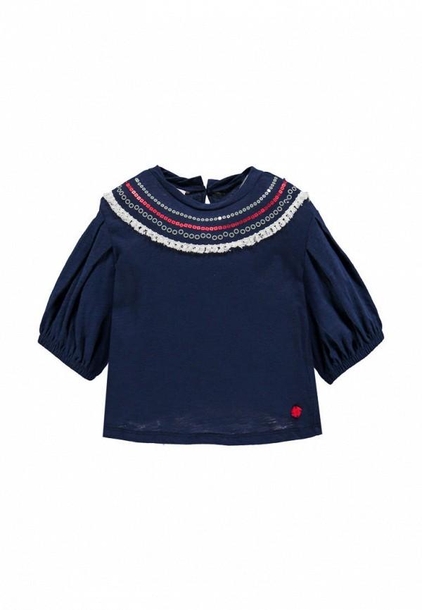 футболка с коротким рукавом brums для девочки, синяя