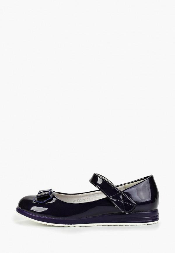 туфли vitacci для девочки, фиолетовые
