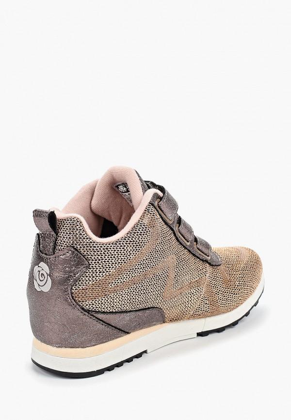 Кроссовки для девочки King Boots цвет золотой  Фото 3