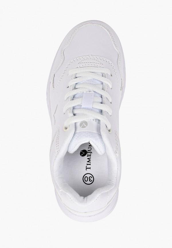 Кроссовки для девочки TimeJump цвет белый  Фото 4
