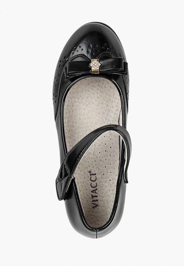 Туфли для девочки Vitacci цвет черный  Фото 4