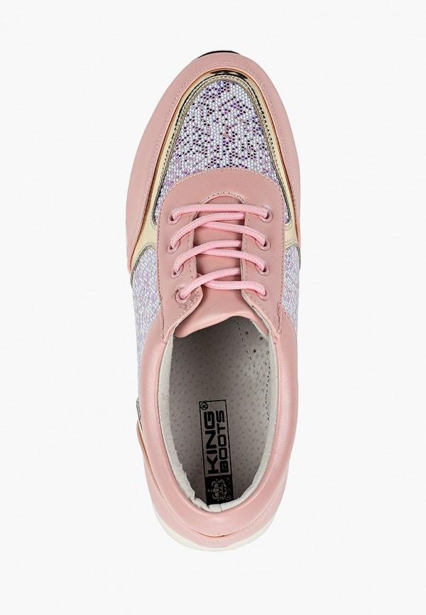 Кроссовки для девочки King Boots цвет розовый  Фото 4