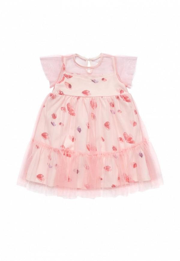 платье artie для девочки, розовое