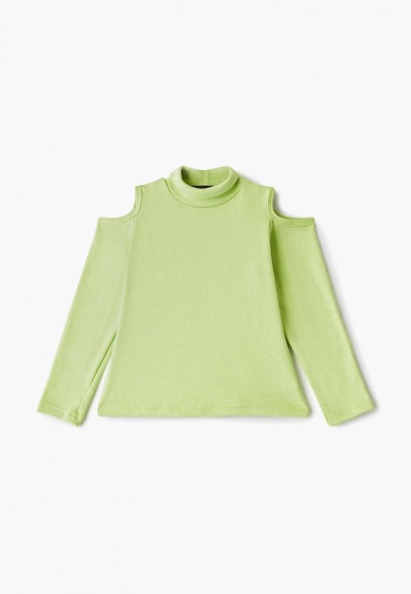 водолазка archyland для девочки, зеленая