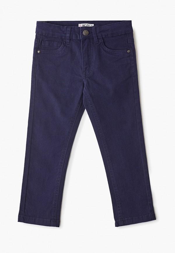 брюки incity для девочки, синие