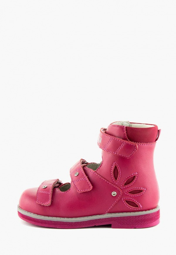Ботинки для девочки Orthoboom цвет розовый