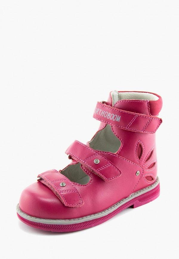 Ботинки для девочки Orthoboom цвет розовый  Фото 2