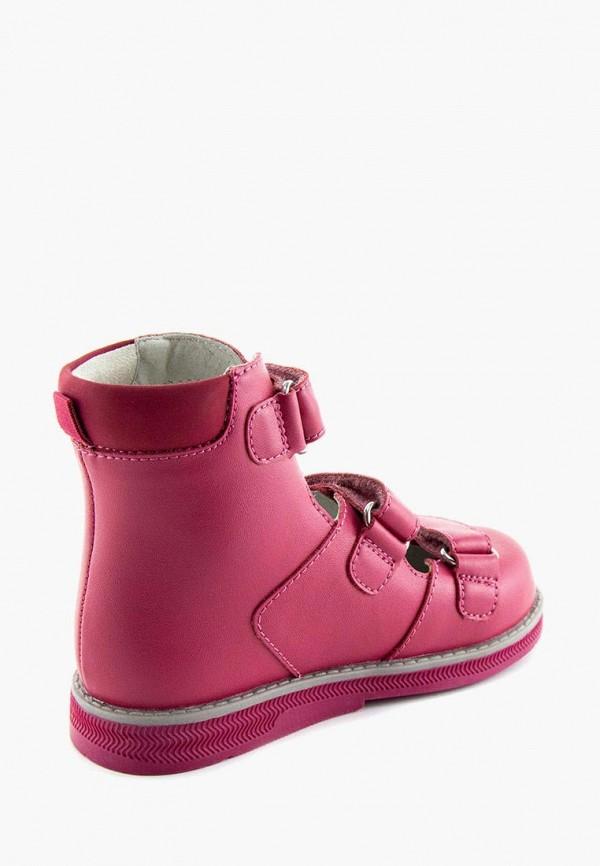 Ботинки для девочки Orthoboom цвет розовый  Фото 3